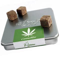 Truffes CANNABLISS chanvre et cacao* (boîte métal)