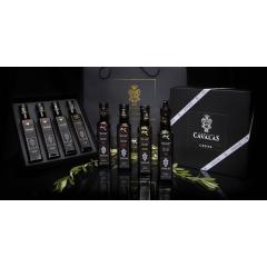 Coffret Cadeau 4 Huiles d'olive infusées