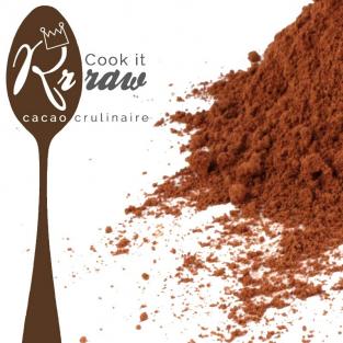 Poudre de cacao cru. Cacao 100%. 200g