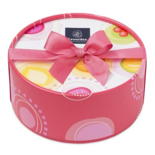 COFFRET ROSE PRALINES 370G, 24 pcs