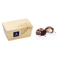 12 MARSHMALLOWS FRAMBOISE CHOCOLAT NOIR