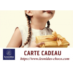 Carte Cadeau 100€ DEMATERIALISEE