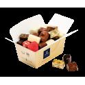 Carton de 15 ballotins de 750 g net de Chocolats LEONIDAS