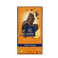 Tablette Noir Orange 100g Leonidas