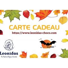 Carte Cadeau 50€ DEMATERIALISEE