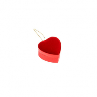 Petit coeur velours