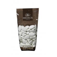 Dragées chocolat Blanc Brillant MEDICIS 70% cacao