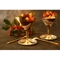 COFFRET DE 2 COUPES EN CHOCOLAT