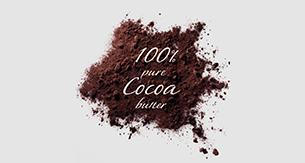 100% beurre de cacao