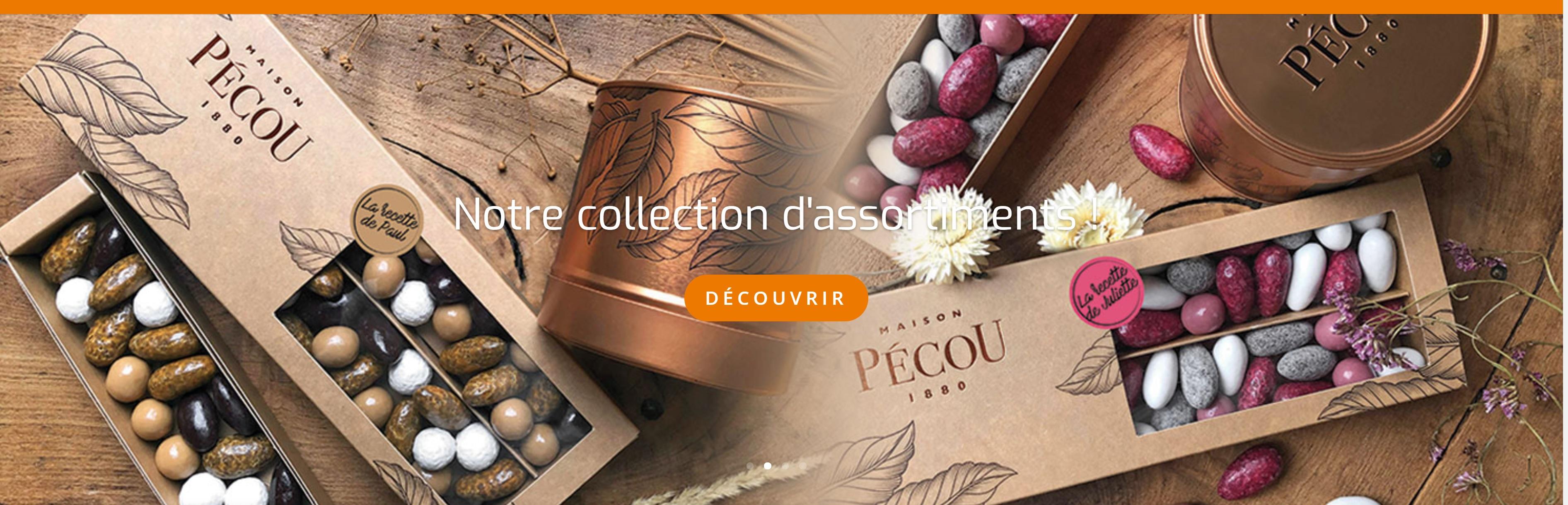Dragées - Maison Pécou - Liquicroc